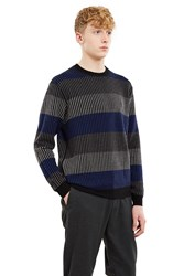 Opening Ceremony Float Rugby Pullover Black Multi