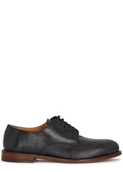 Vivienne Westwood Two Tone Printed Leather Derby Shoes Grey