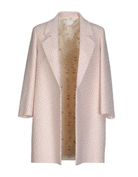 Kristina Ti Coats And Jackets Full Length Jackets Women Beige