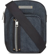 Diesel Gear Denim Cross Body Bag