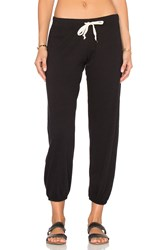 Nation Ltd. Medora Capri Sweatpant Black