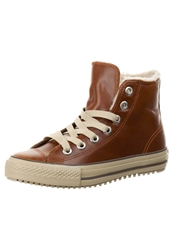 Converse Chuck Taylor All Star Mid Converse Boot Hightop Trainers Pinecone Dark Brown