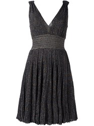 Missoni Shimmer V Neck Dress Black