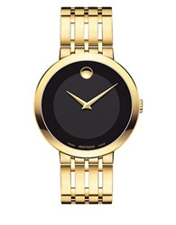 Movado Esperanza Stainless Steel Bracelet Watch Gold