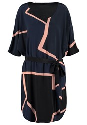 Stine Goya Anthias Summer Dress Night Dark Blue