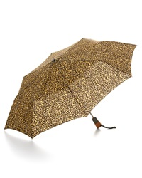 Bloomingdale's Cheetah Print Umbrella Multi