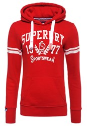 Superdry Rich Scarlet Sweatshirt Rich Scarlet Red