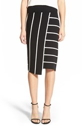 Women's Bailey 44 'Skyline' Stripe Pencil Skirt