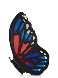 Kate Spade Wing It Leather Butterfly Clutch