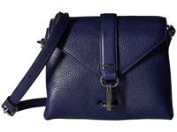 Ecco Isan Small Crossbody Deep Cobalt Cross Body Handbags Blue
