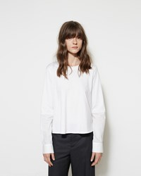 Marni Blocked Poplin Tee
