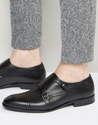 Hugo By Hugo Boss Dressap Monk Shoes Black