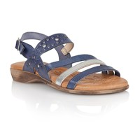 Lotus Palma Open Toe Sandals Blue