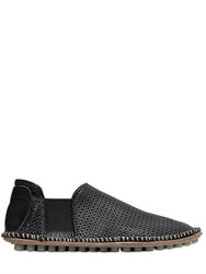 Bruno Bordese Perforated Leather Loafers