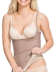 Spanx Open Bust Shaper Cami Taupe