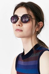 Bdg Backstage Small Round Sunglasses Black