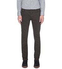 Ted Baker Slim Fit Tapered Jeans Charcoal
