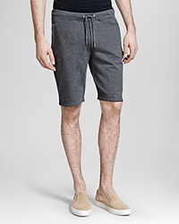 The Kooples Soft Fleece Shorts Grey