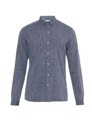Oliver Spencer Clerkenwell Tab Collar Cotton Shirt