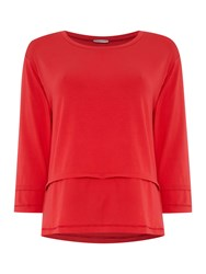 Pennyblack Ragusa Jersey Top Red