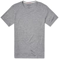 Apolis Merino Tee Heather Grey