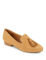 424 Fifth Blake Leather Loafers Tan