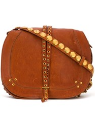 Jerome Dreyfuss Hobo Crossbody Bag Brown