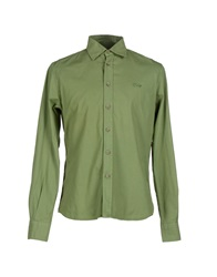 Cooperativa Pescatori Posillipo Shirts Military Green