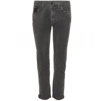 True Religion Grace Slouchy Skinny Jeans Clouds