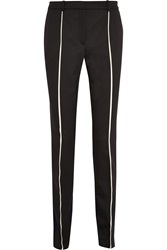 Pringle Stretch Wool Straight Leg Pants Black