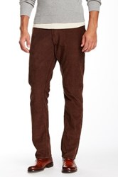 Bonobos French Corders Slim Pant 30 34' Inseam Brown