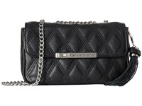 My Flat In London Lady Astor Chain Flap Bag Black Shoulder Handbags