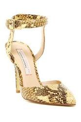 Kristin Cavallari By Chinese Laundry Cyprus Ankle Strap Pump Yellow