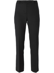 Hache Slim Fit Cropped Trousers Blue