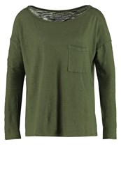 Gap Long Sleeved Top Army Jacket Green Khaki