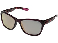 Nike Vital R Crystal Deep Burgundy Hyper Pink Tortoise Fashion Sunglasses Brown