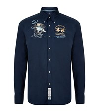 La Martina Argentina Polo Shirt Male Navy