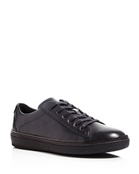 To Boot Fields Leather Sneakers Nero