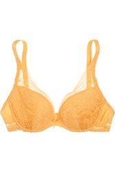 Simone Perele Favorite Lace And Satin Jersey Push Up Bra