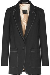 By Malene Birger Unitai Twill Blazer Black