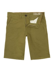 Blend Of America Canvas Shorts Olive