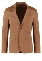Pier One Suit Jacket Brown
