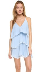 Bec And Bridge Mirage Tiered Dress Bleached