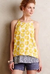 Porridge Layered Swing Tank Yellow