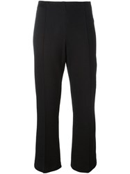 By Malene Birger Cropped Trousers Black