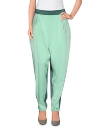 5Preview Trousers Casual Trousers Women Light Green