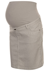 Esprit Maternity Pencil Skirt Cement Grey