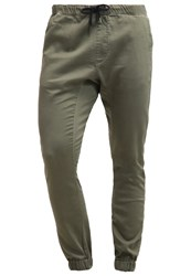 Quiksilver Fonic Trousers Dusty Olive Light Green