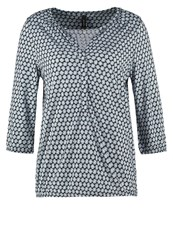 Soyaconcept Felicity Long Sleeved Top Midnight Blue Combi Blue Grey