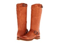 Frye Veronica Slouch Whiskey Soft Vintage Leather Women's Pull On Boots Tan